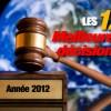 Sélection des 12 causes ayant marqué 2012